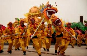 chinese dragon dance costume